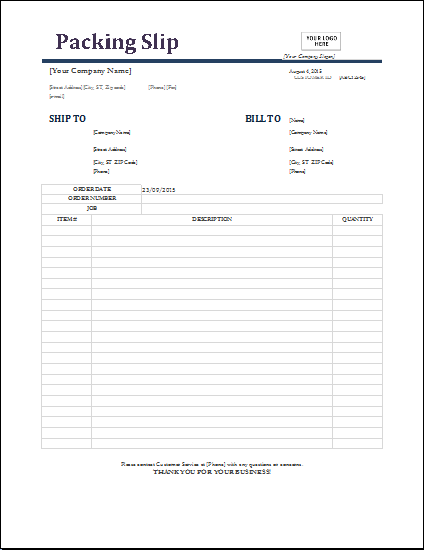 free for excel free free word 39 s home word other word word it – Sample Packing Slip