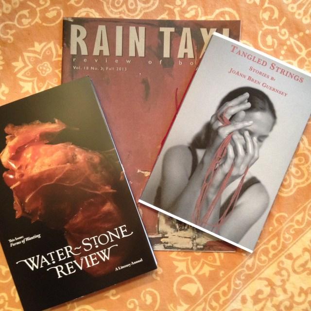 Great debuts at Rain Taxi!