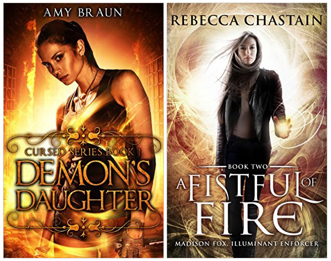 Urban fantasy covers