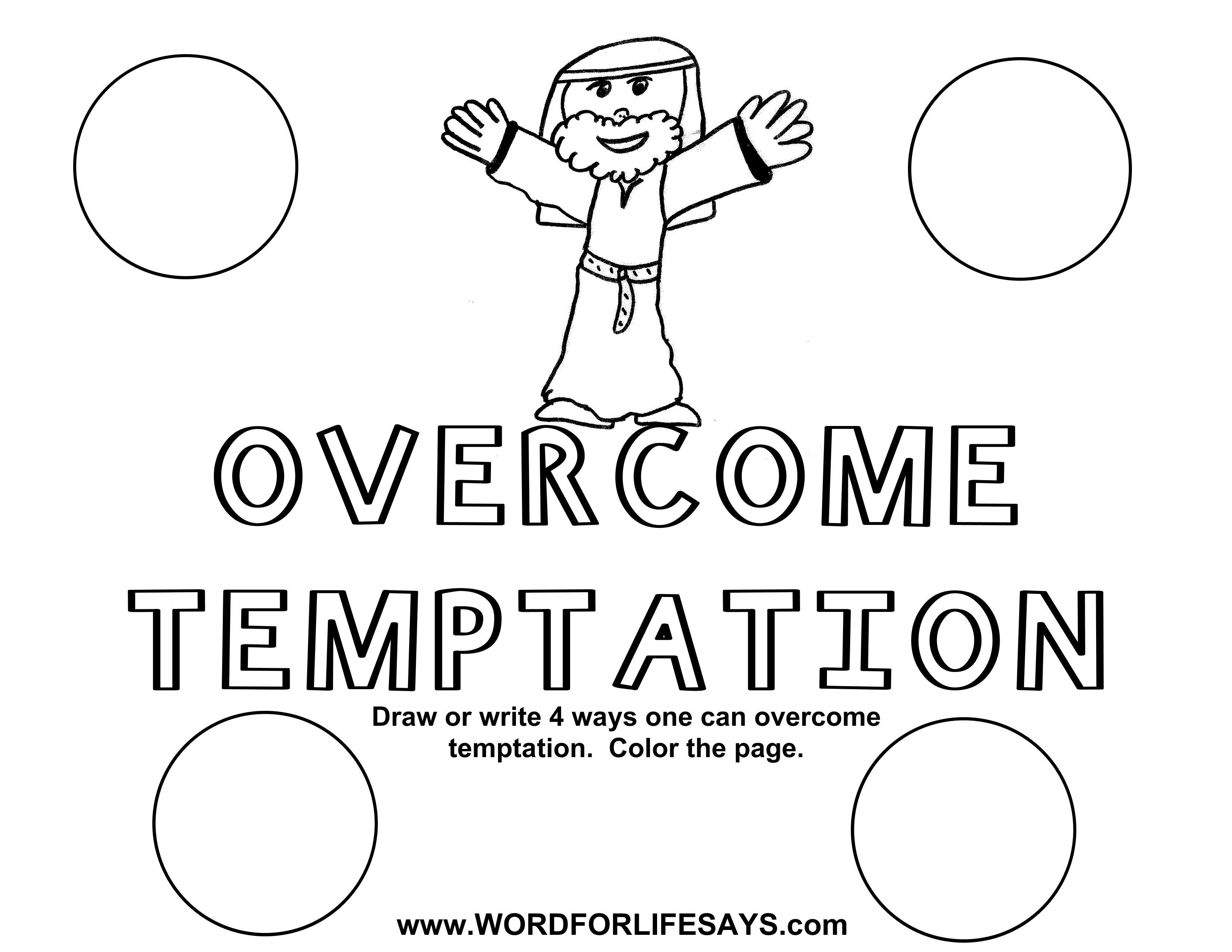 Overcome Temptation Draw The Scene 001
