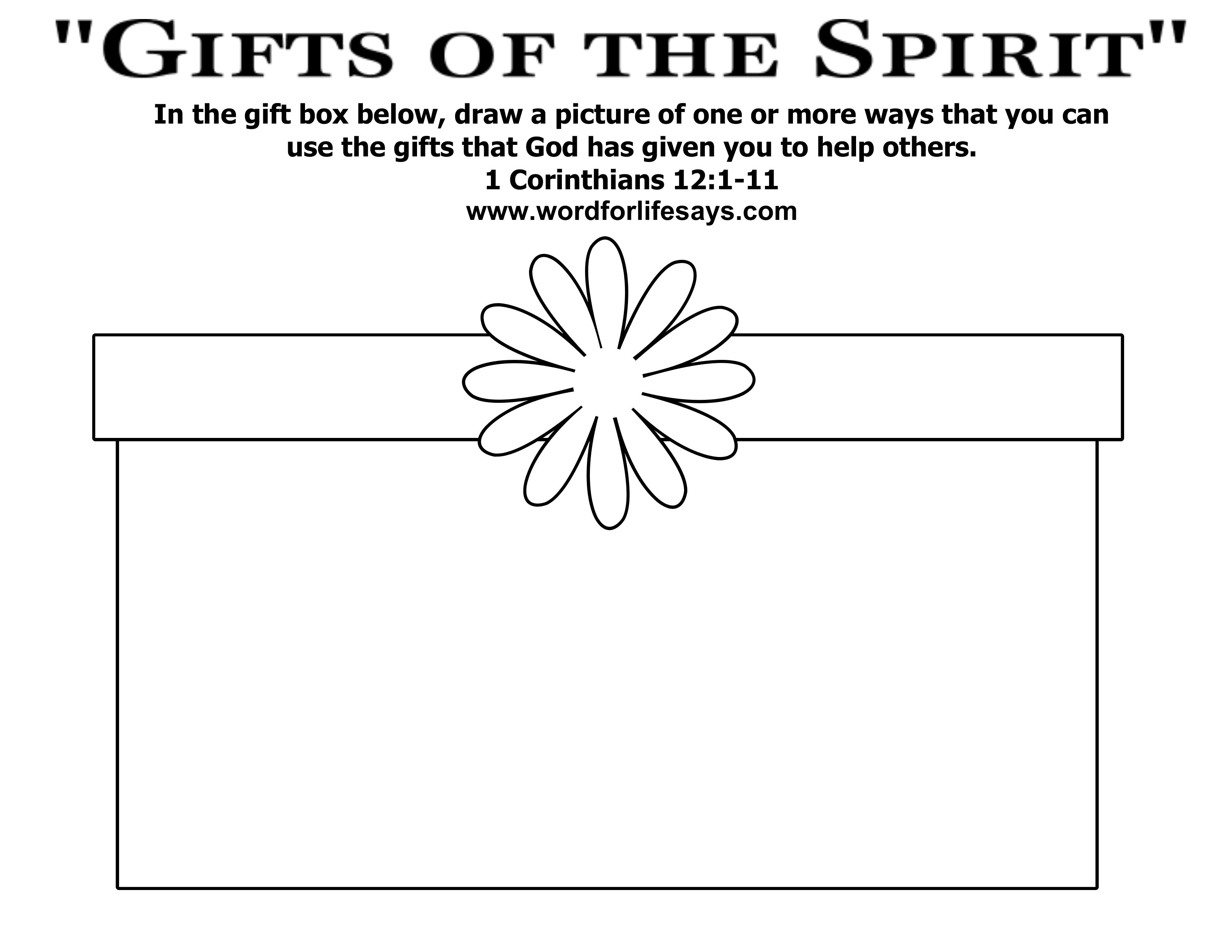 Coloring Pages Ts Of The Holy Spirit