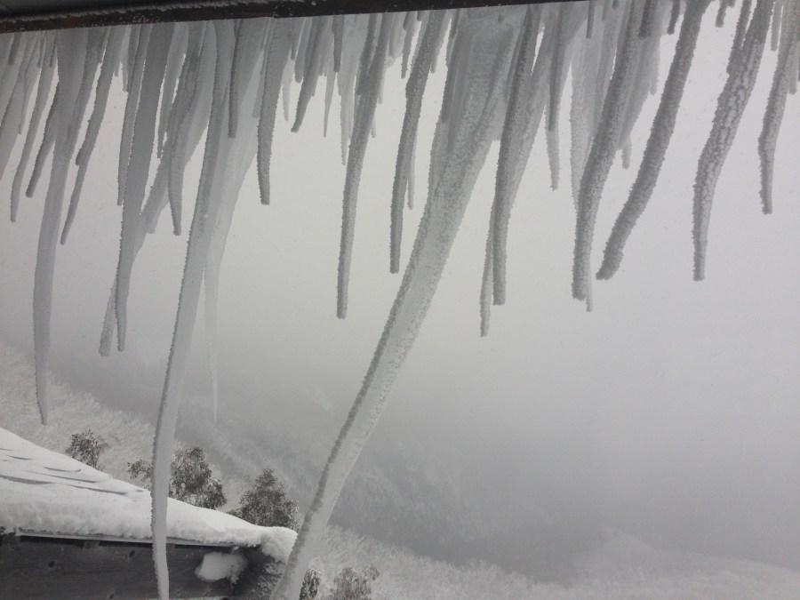 Icy fringe