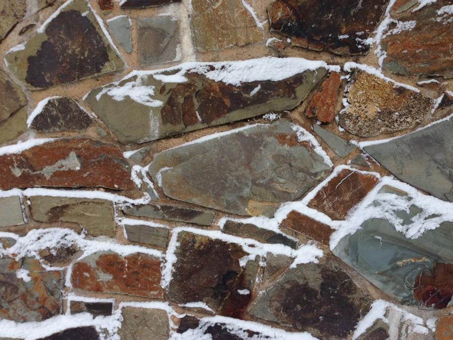 Local stone work