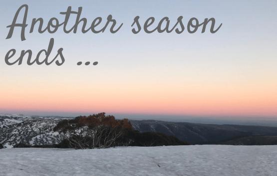 Season end