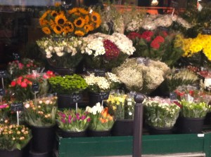 Vic Market flowers