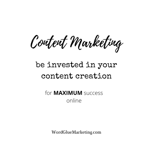 content marketing for success online