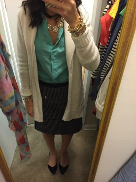 Fall essential item: pencil skirt