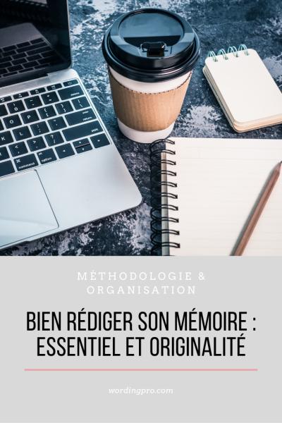 Bien rédiger son mémoire
