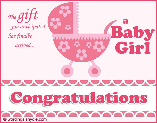 Wishes For Newborn Girl