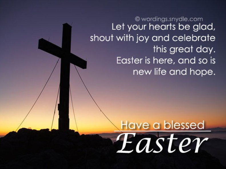 Religious Easter Messages and Christian Easter Wishes – Wordings and  Messages