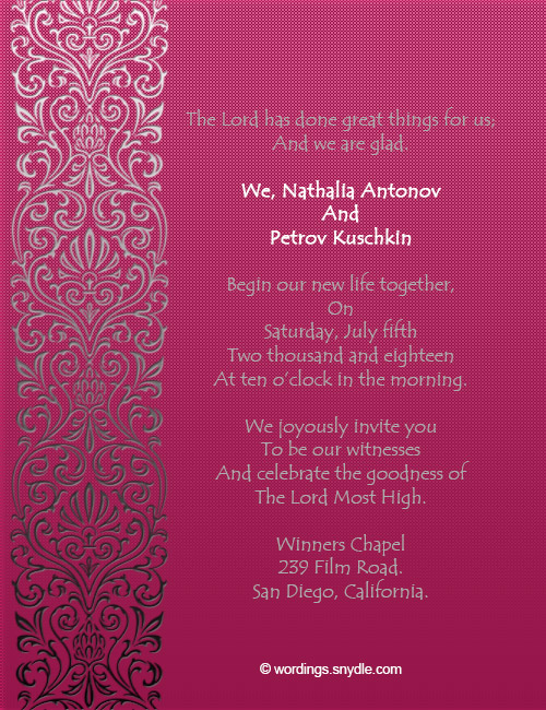 Wedding Invitations And Get Ideas How To Make The Invitation Look Appealing 7