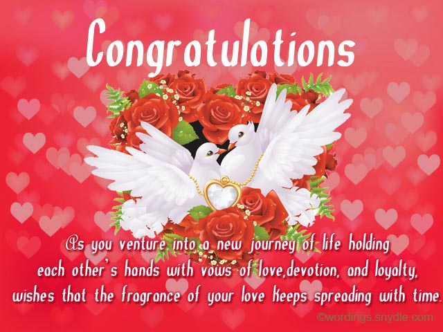 Wedding Wishes Messages and Wedding Day Wishes – Wordings and Messages