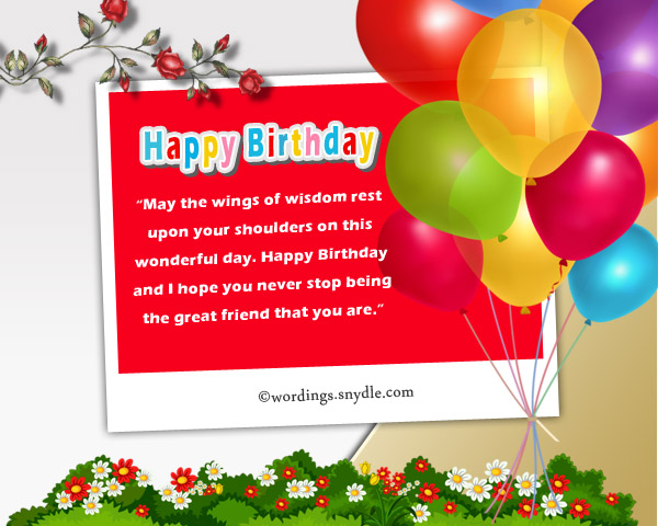 Birthday Messages For Friends On Facebook Wordings And Messages