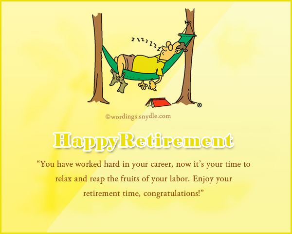 Retirement Wishes Greetings And Retirement Messages Wordings And Messages