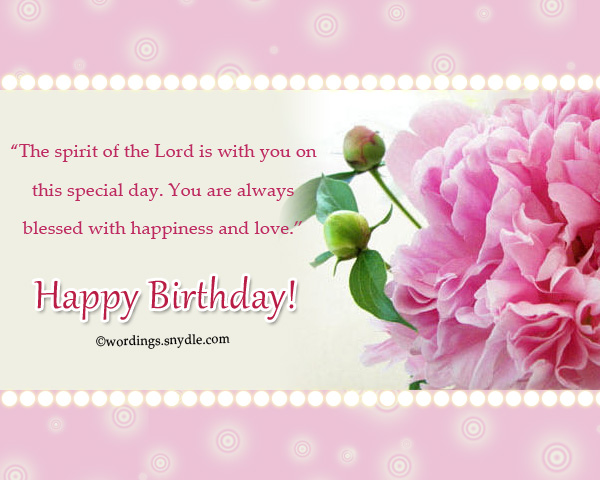 Christian Happy Birthday Greetings Messages Wordings And Messages