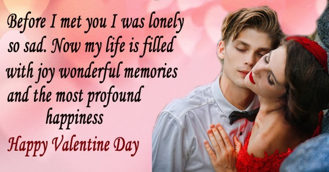 Valentine's Day Wishes for Girlfriend