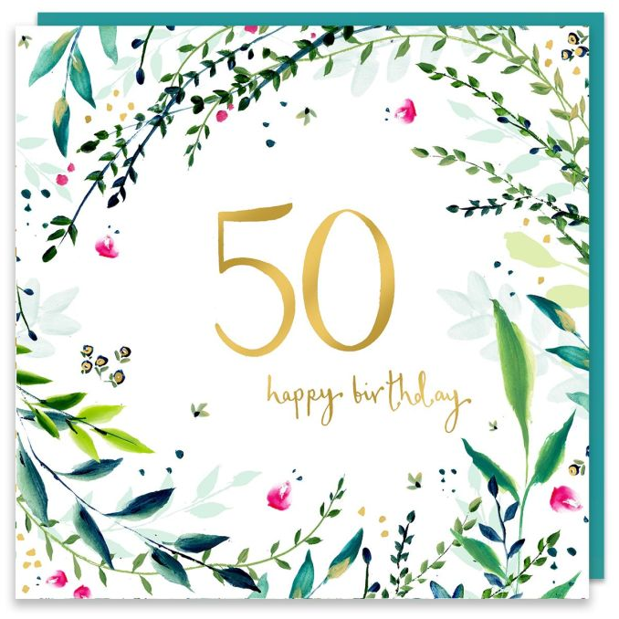 Happy 50th Birthday Wishes for Friends