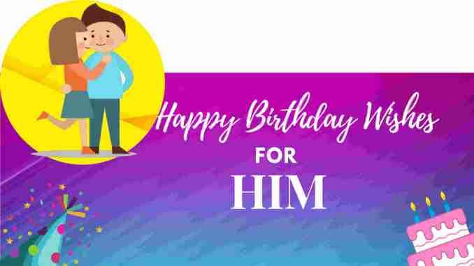 Love Birthday Wishes for Boyfriend