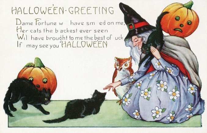Halloween Notes for Friends