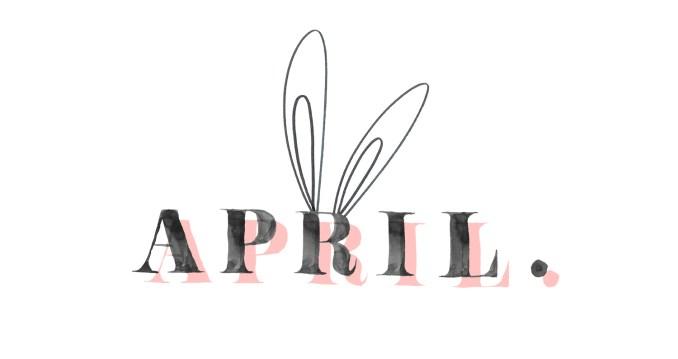 Happy Happy April
