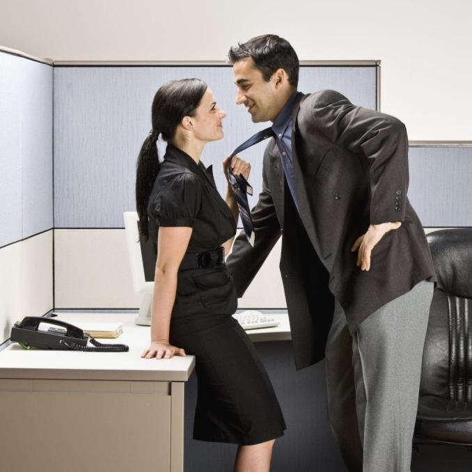 Tell if a guy likes you at work