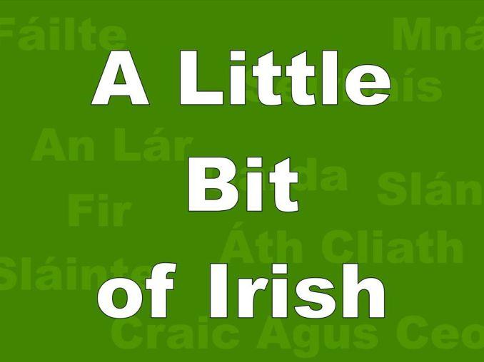Irish Saying Witticisms