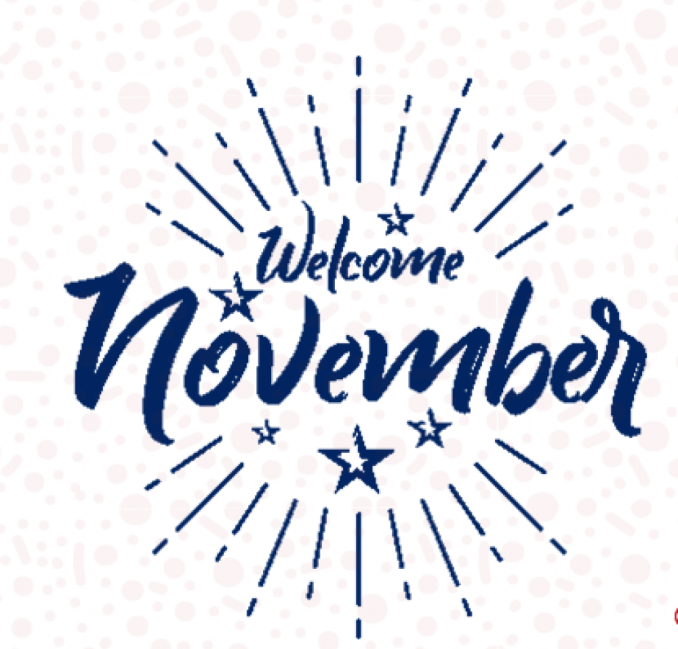 Happy November All