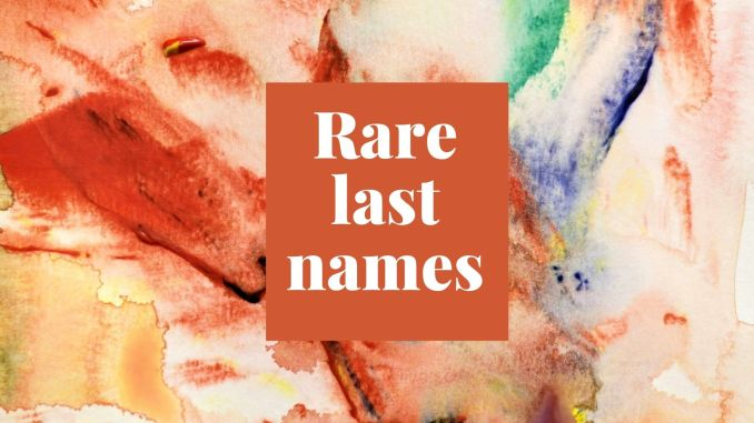 More Options for Cool Last Names as First Names