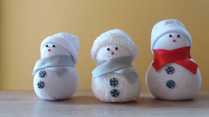 Sock Snowman Idea