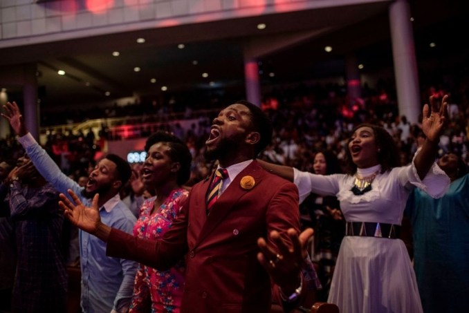 Christians Worshipping