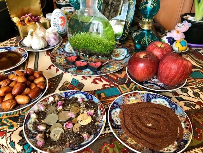 Nowruz Dishes
