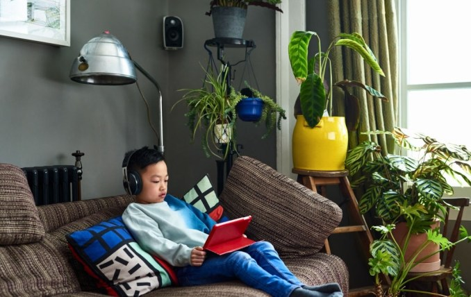 Boy with Gadgets