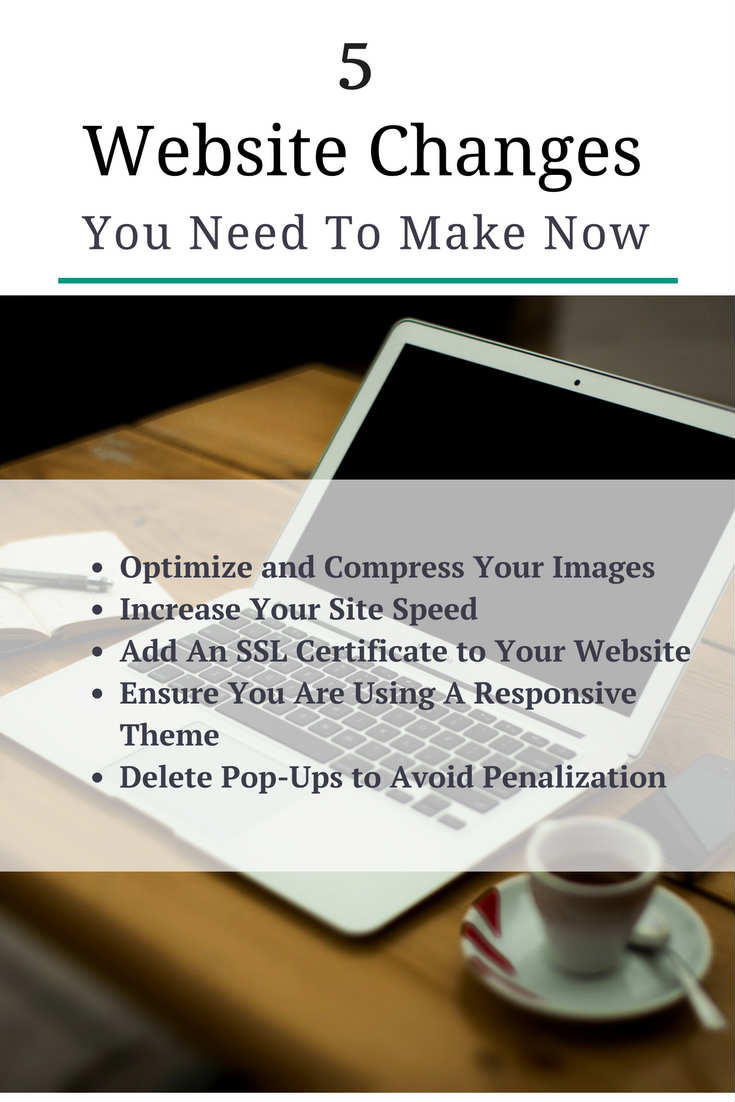 5 Blog Changes You Need to Make ASAP