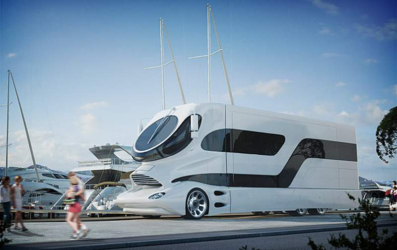 Expensive Most Motorhome Worlds Inside