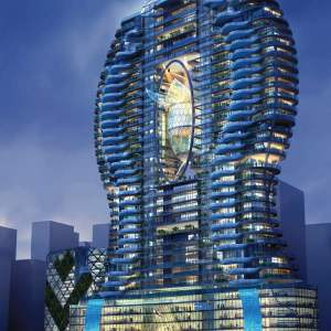 Bandra Ohm residential tower by James Law Cybertecture