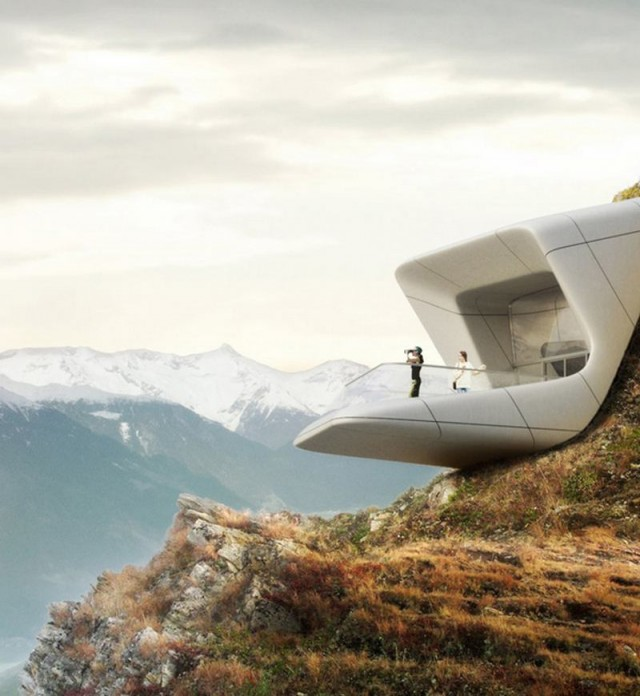 Messner Mountain Museum by Zaha Hadid (4)