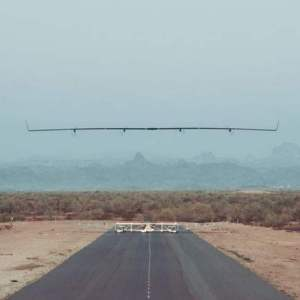 Facebook's Aquila solar airplane made its first flight