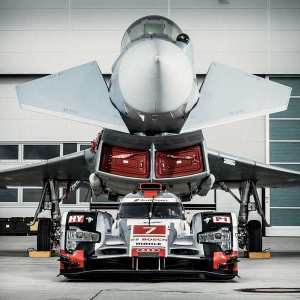 Audi R18 e-tron quattro vs. Eurofighter Typhoon