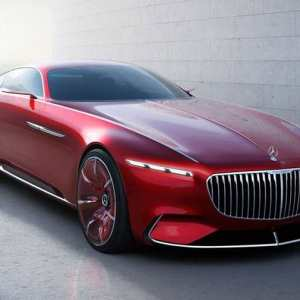 Vision Mercedes Maybach 6 supercar