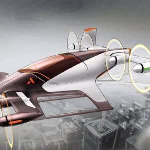 Self-flying taxi by Airbus