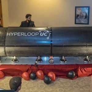 Watch a Hyperloop pod Levitate for the first time
