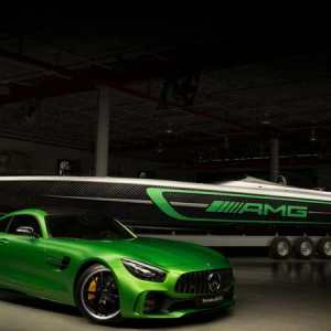 The 3,100-hp Cigarette 50' Marauder AMG