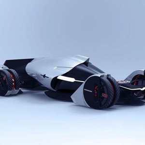 Tesla T1 Hypercar concept