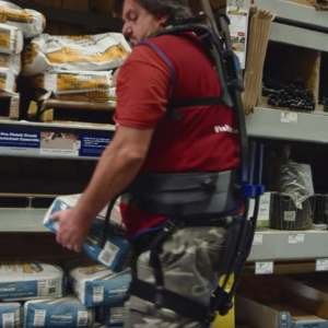 Lowe's new lift-assistance Exosuit