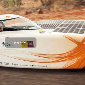 World Champion Solar Car Racing winner