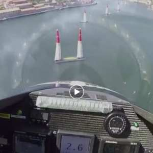 Red Bull Air Race breathtaking cockpit view