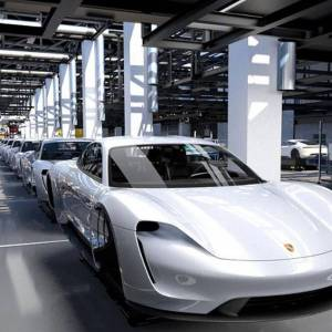 Porsche enters the electric era with the Taycan