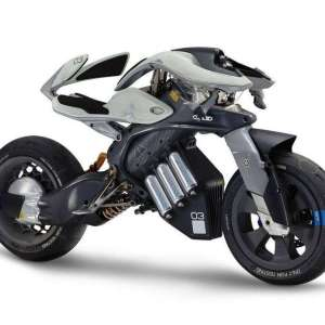 Yamaha Motoroid Self balancing electric motorcycle