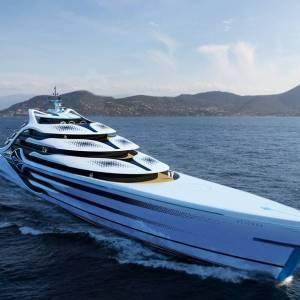 Acionna 175m Superyacht concept