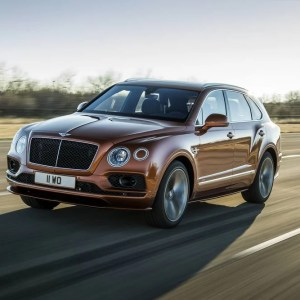 Bentley Launches world's Fastest SUV